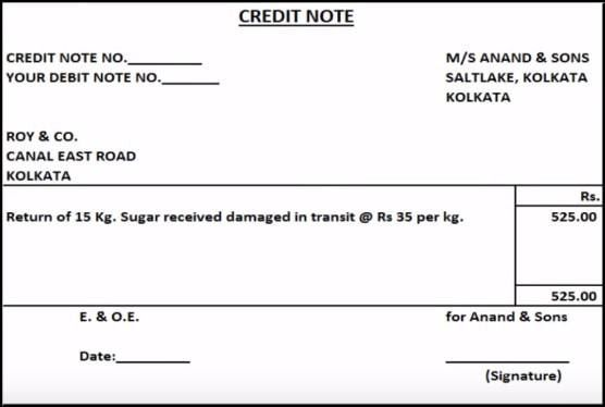 Debit Note and Credit Note Explained with Meaning and Uses