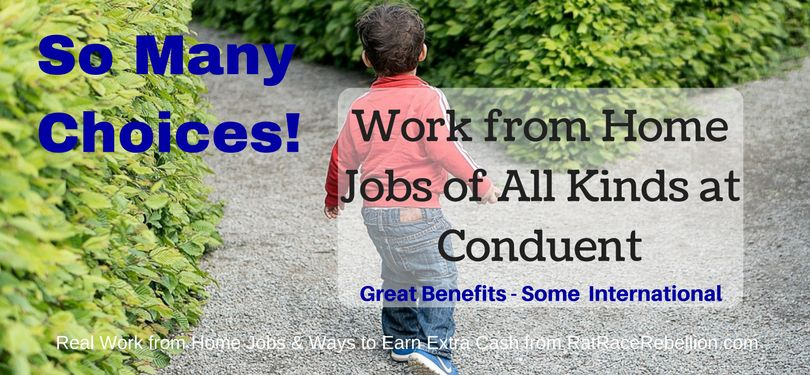 SO MANY Work from Home Jobs of All Kinds at Conduent - Great ...