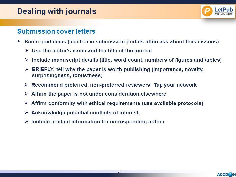 Pointers on Preparing Papers for Professional Publication: - ppt ...