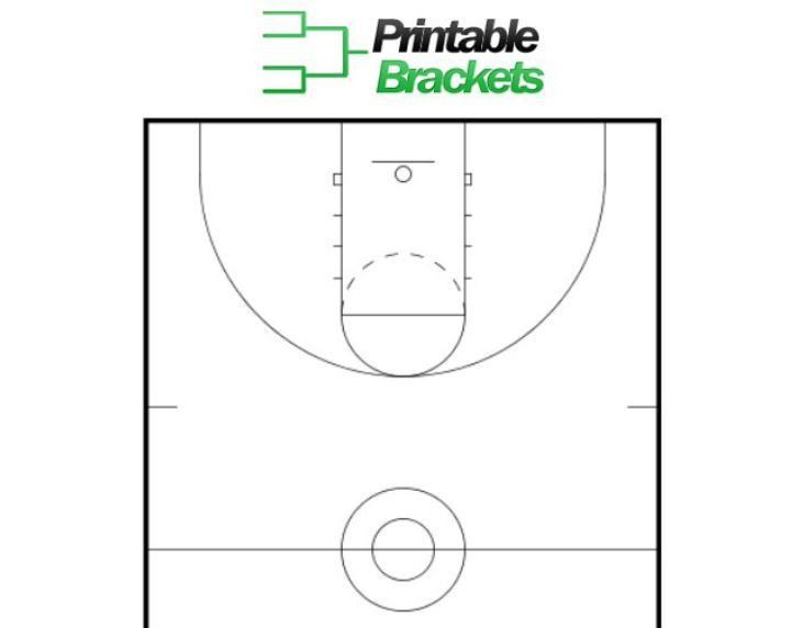 Basketball Court Template   Basketball Key Template