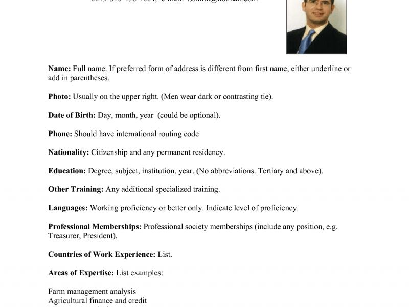 Marvellous Us Resume Format 15 Templates Cv Usa Soph - Resume Example