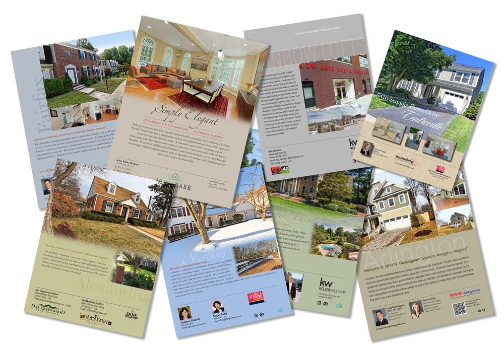 Real Estate Brochures, Flyers, and Print — DS Creative Group