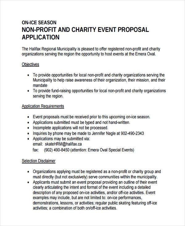 6+ Non-Profit Proposal Examples, Samples