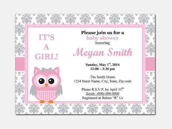 Baby Shower Invitations Templates Free | wblqual.com