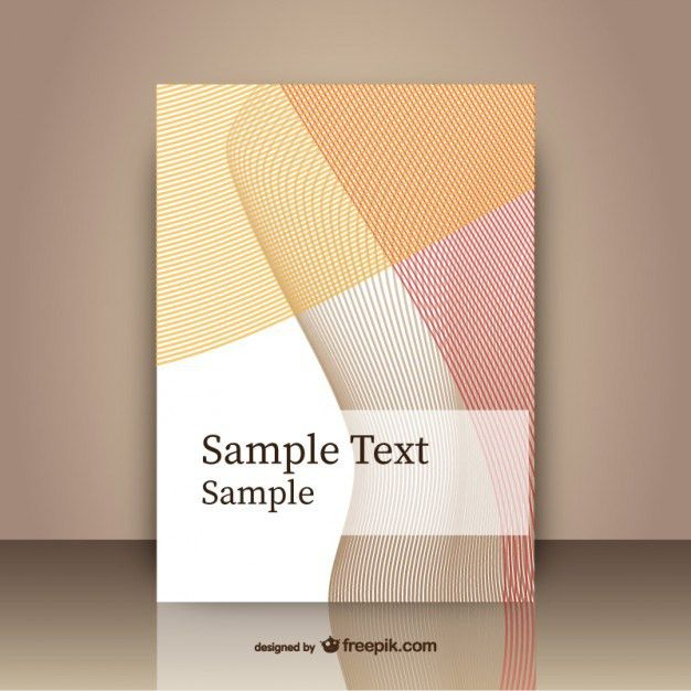Abstract cover template Vector | Free Download