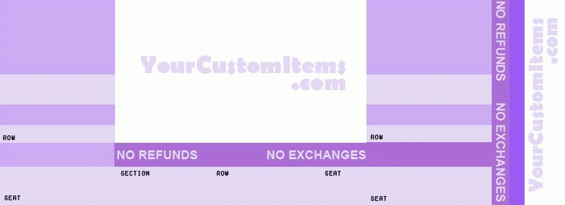 Generic Concert Ticket : Invitations : Personalized Items : Custom ...