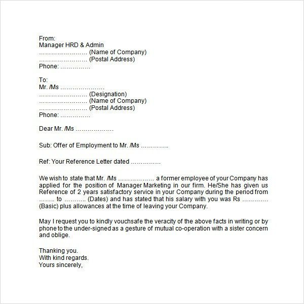 Wonderful Sample Employment. Executive Employment Contract Template .  Employment Verification Letter Template Microsoft