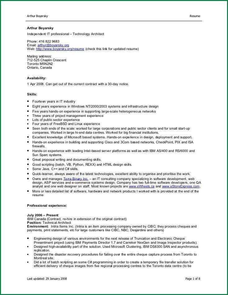 10 Simple Resume Format for Freshers in Word file ...