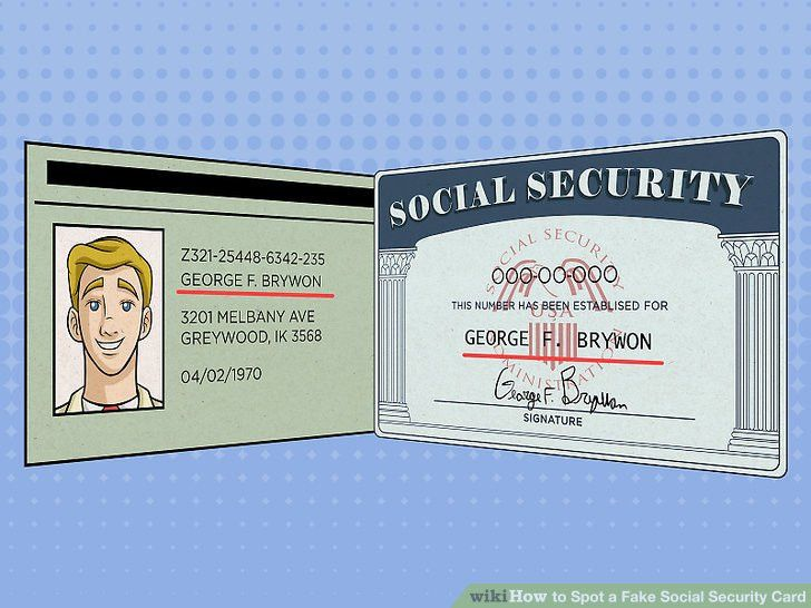 3 Ways to Spot a Fake Social Security Card - wikiHow