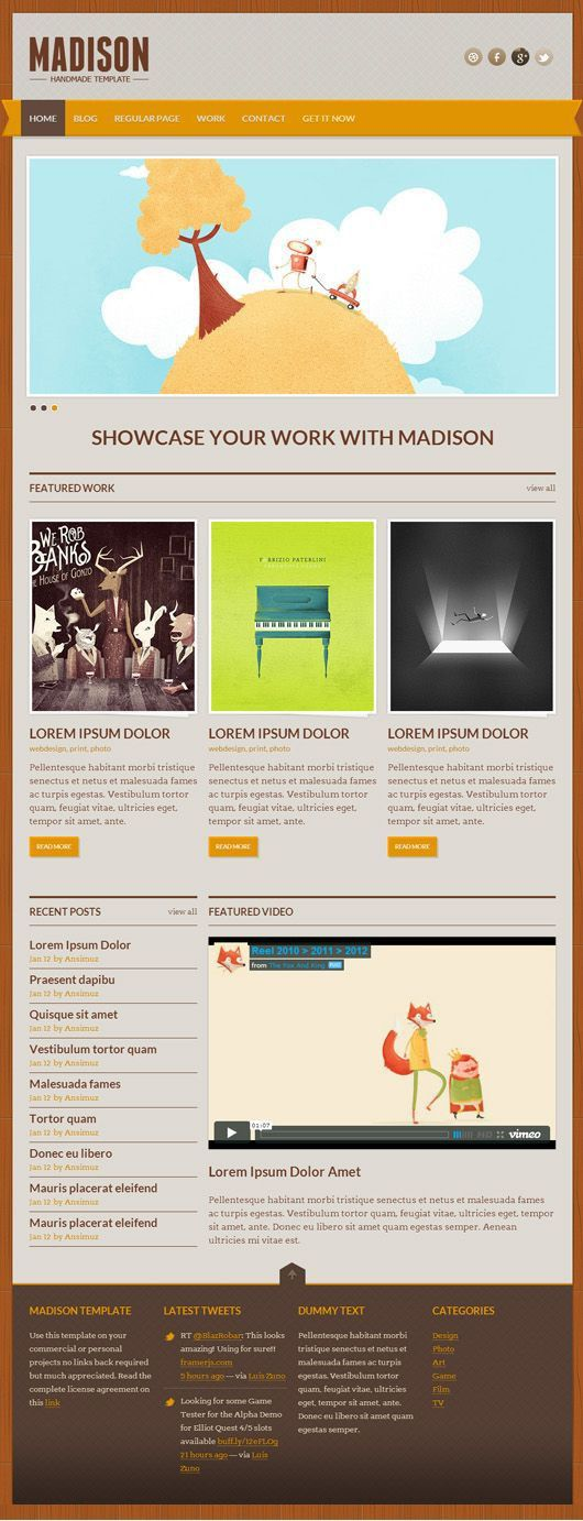 727 best PSD Templates images on Pinterest | Psd templates, Html ...