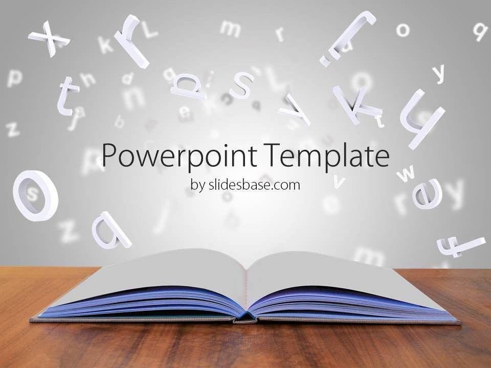 3D Book PowerPoint Template   Slidesbase