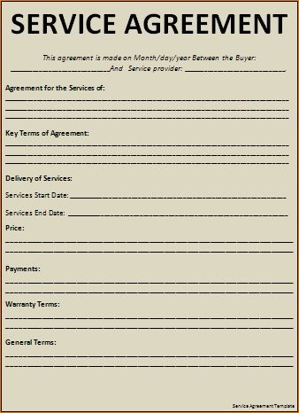 6+ Professional Services Agreement Template | Timeline Template