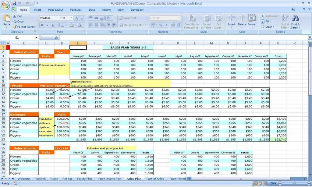 Accounting Spreadsheet Template | HYNVYX