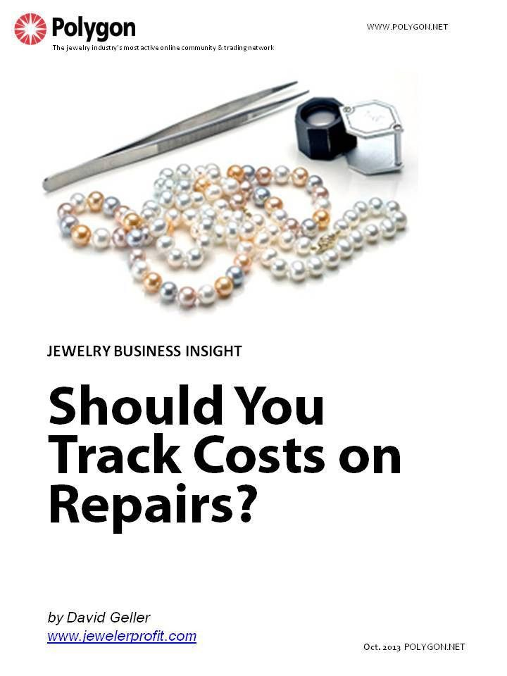 Should You Track Costs on Repairs, Custom Work and Other Jobs in ...