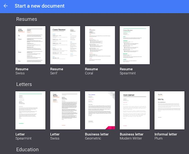 Google Docs Templates | Fotolip.com Rich image and wallpaper