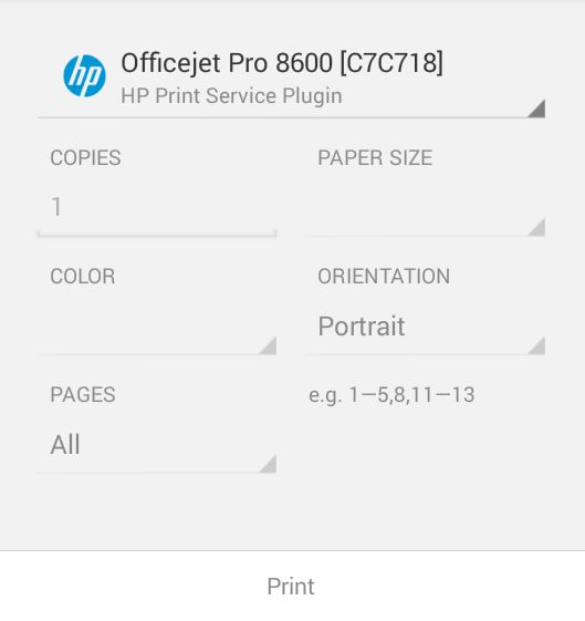 An Android HTML and Web Content Printing Example - Techotopia