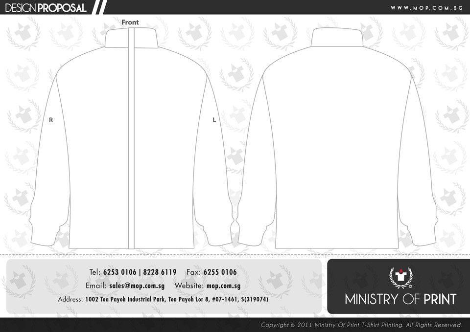 T-Shirt Template, Tshirt Printing Singapore, Ministry of Print