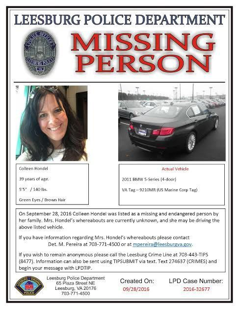 Missing Person Found: Leesburg Police - Leesburg, VA Patch