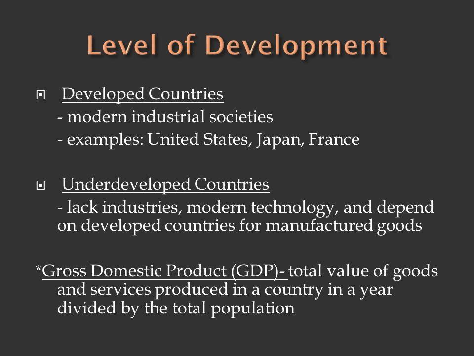 World Economic Activity. 1. Primary Activities - economic ...