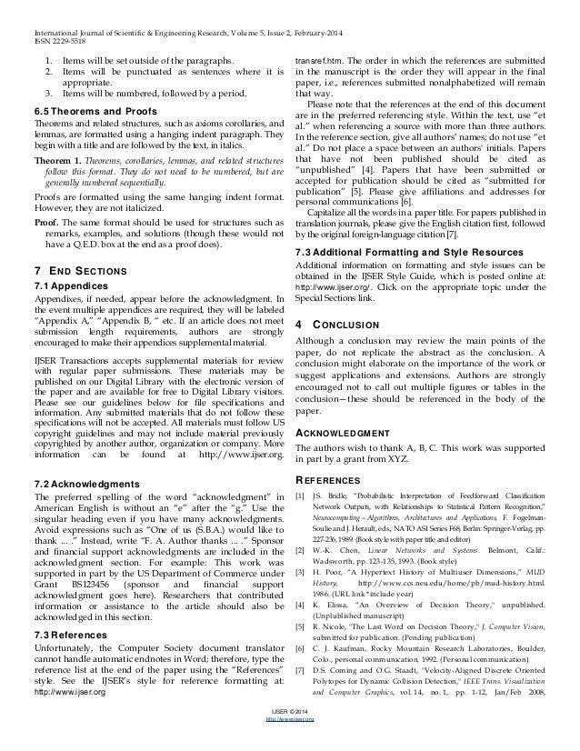 IJSER Template (International Journal of Scientific & Engineering Res…