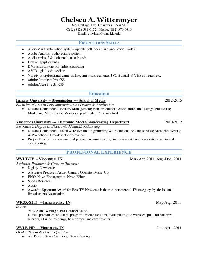 COMPLETED RESUME 5-11-2015