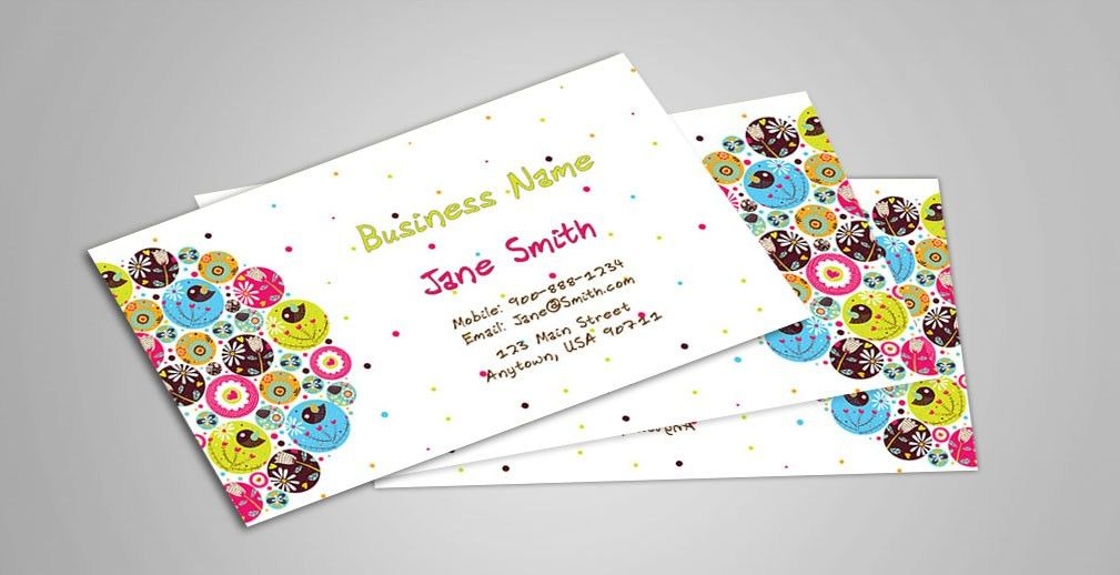 Babysitting and Day Care Business Cards | Babyshower Designs