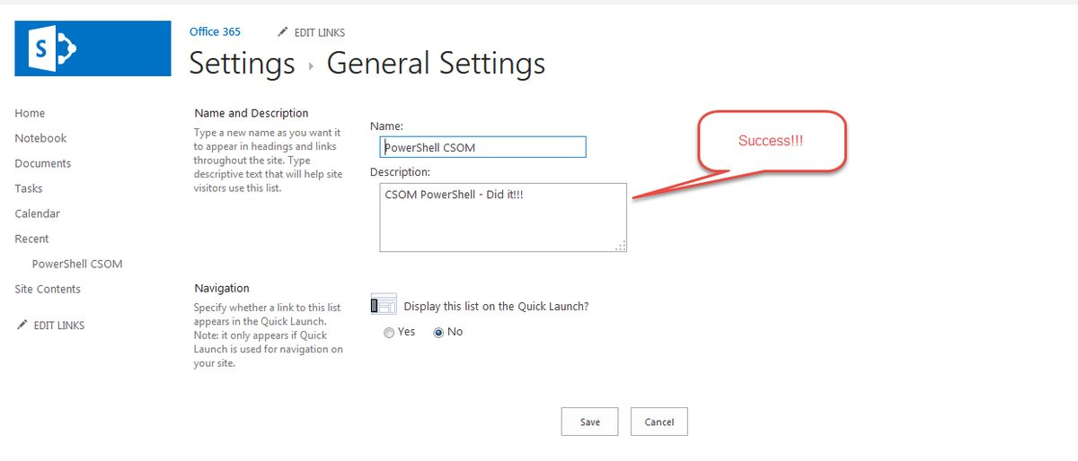 CSOM SharePoint PowerShell Reference and Example Codes - TechNet ...