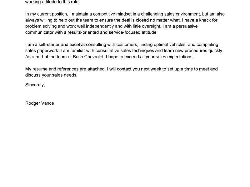 Amazing Excellent Cover Letter 9 Leading Professional Sales ...