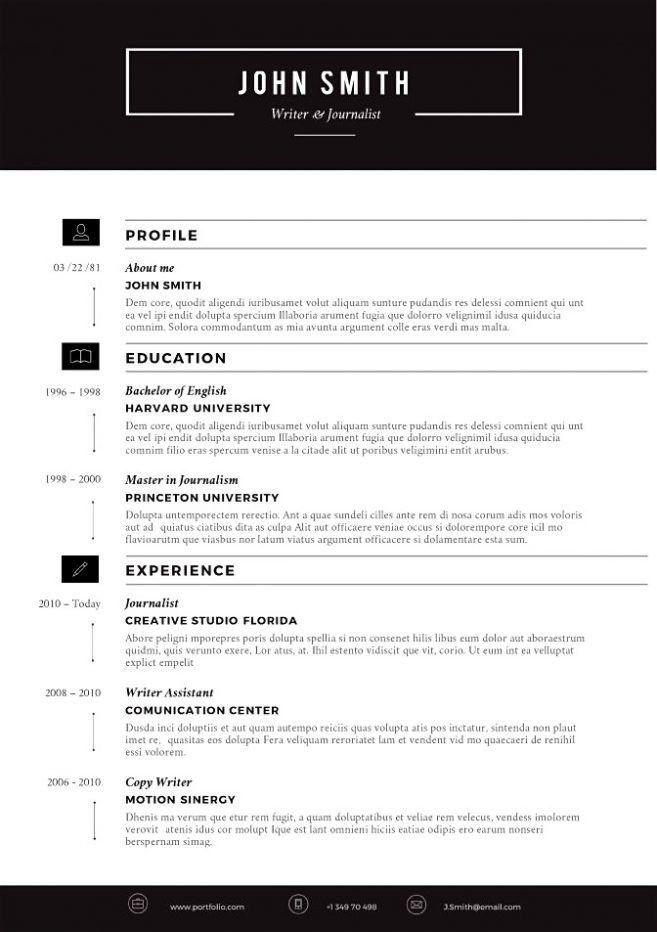 9 Free Creative Resume Templates Download Resume modern resume ...