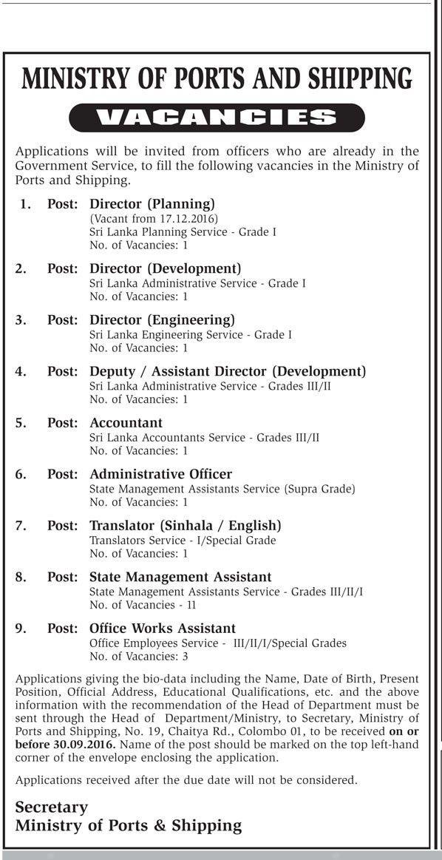 Director (Planing), Director (Development), Director (Engineering ...