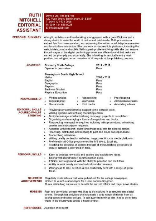 Entry Level Medical Assistant Resume | Resume Template 2017