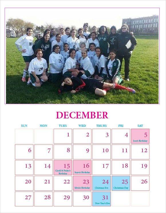 9+ Indesign Calendars - In Design, EPS