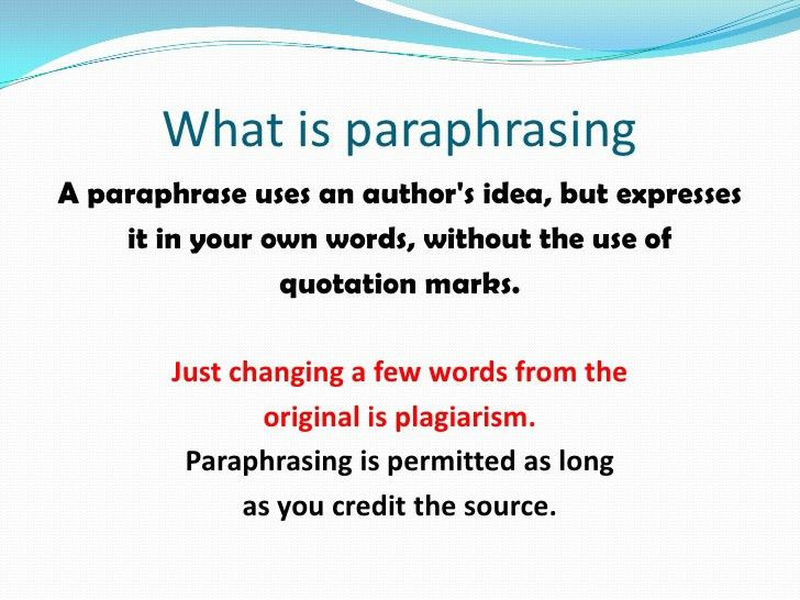 Apa citing, paraphrasing and quoting presentation