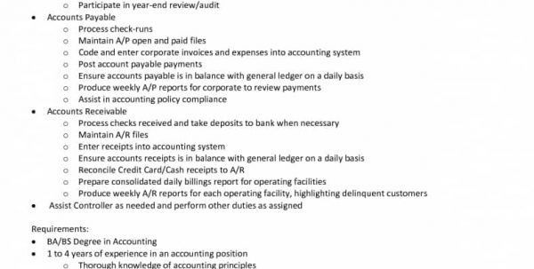 Entry Level Accounting Resume Objective Samples Entry Level ...