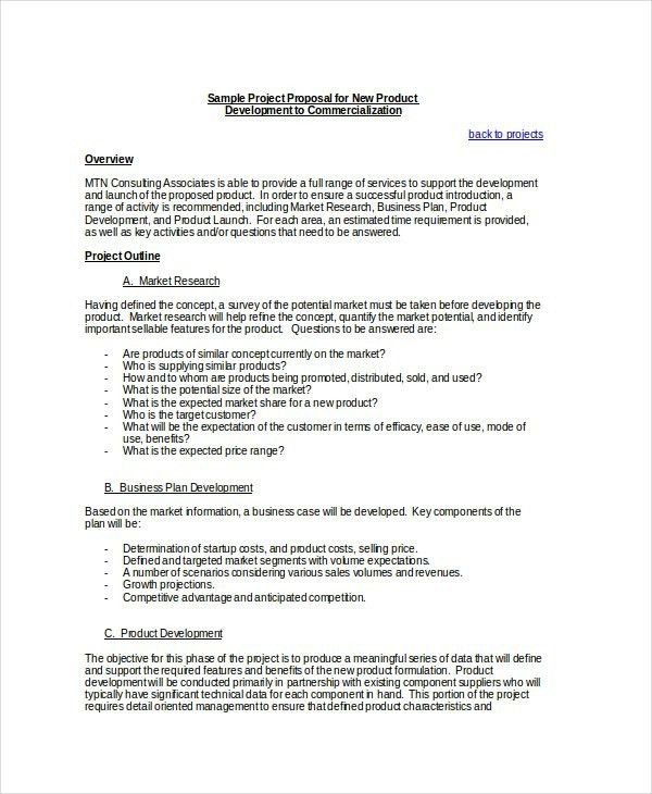 Technical Proposal Template. sample proposal template business ...