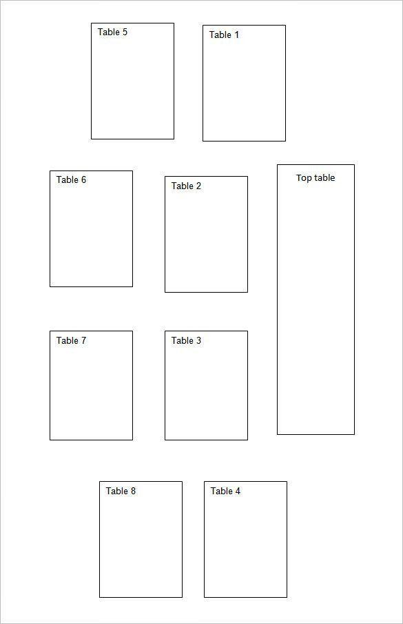 Seating Chart Template | Free & Premium Templates