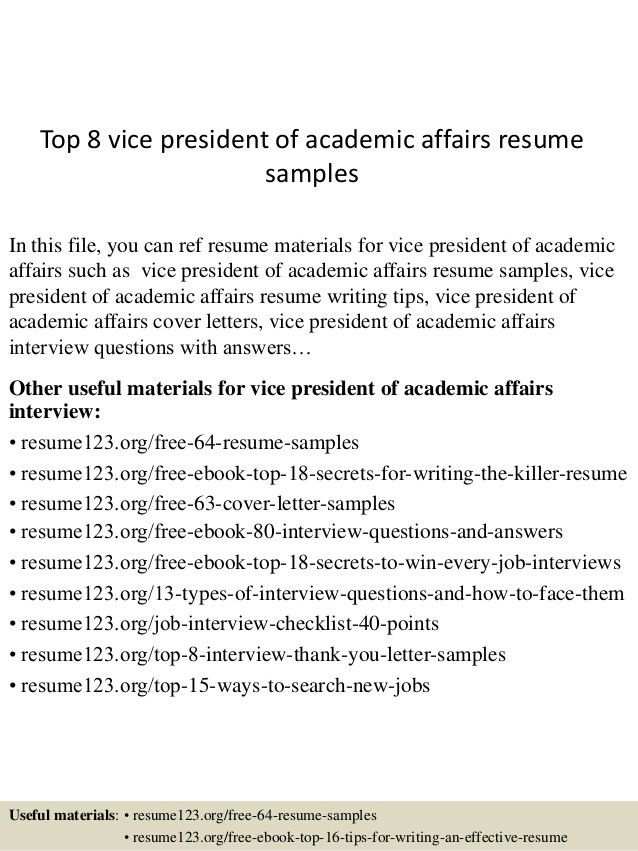 top-8-vice-president-of-academic-affairs-resume-samples -1-638.jpg?cb=1432734163