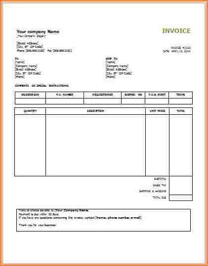 11+ lawn service invoice template | Invoice Term