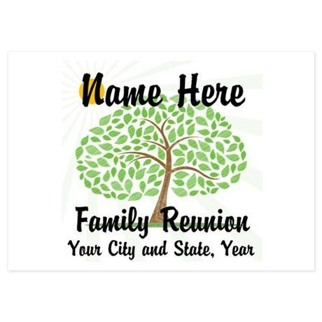 Family Reunion Invitations | Family Reunion Announcements ...