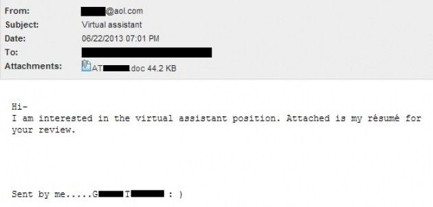 Submitting A Resume Via Email – Resume Examples