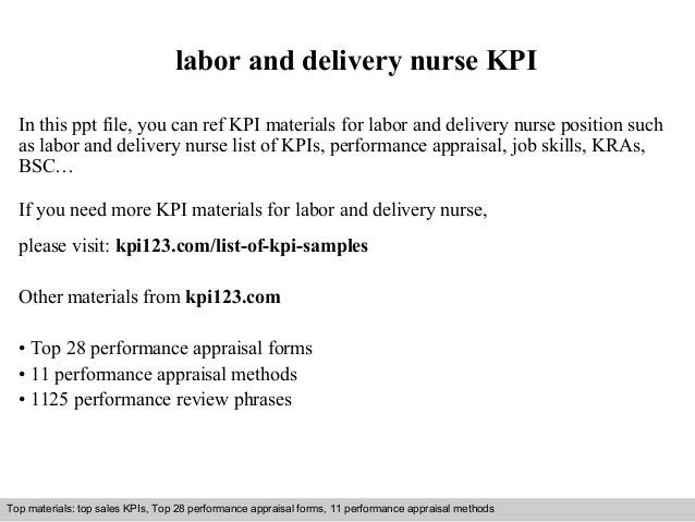 3 tips to write cover letter for labor and delivery nurse. job ...