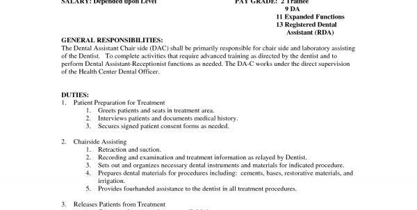 Medical Assistant Job Description And Salary Registered Medical .