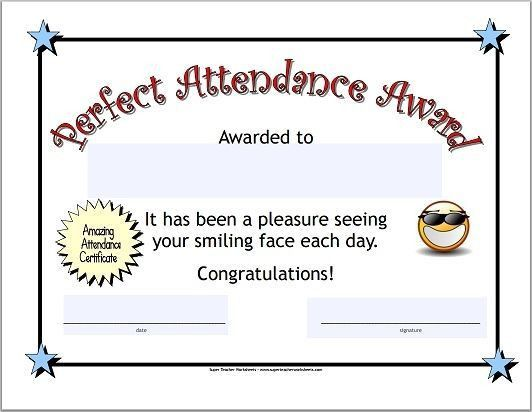 Best 25+ Attendance certificate ideas on Pinterest | Certificate ...