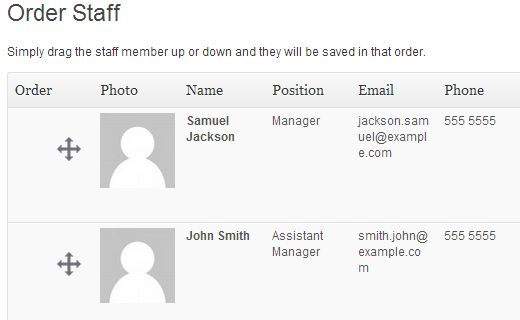 How to Create a Simple Staff List in WordPress
