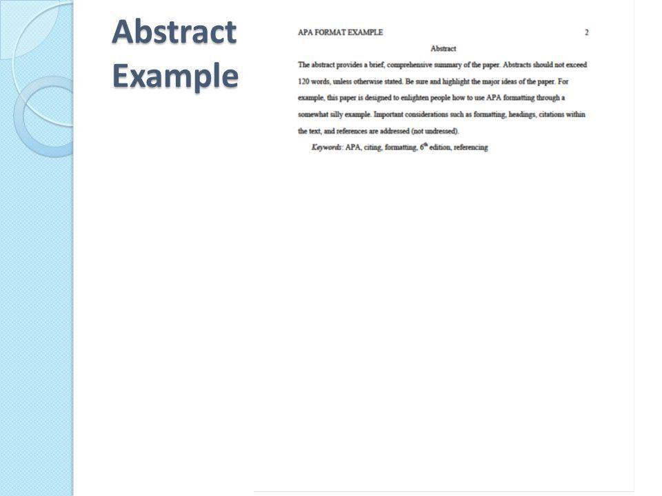 APA Manuscript Elements - ppt video online download