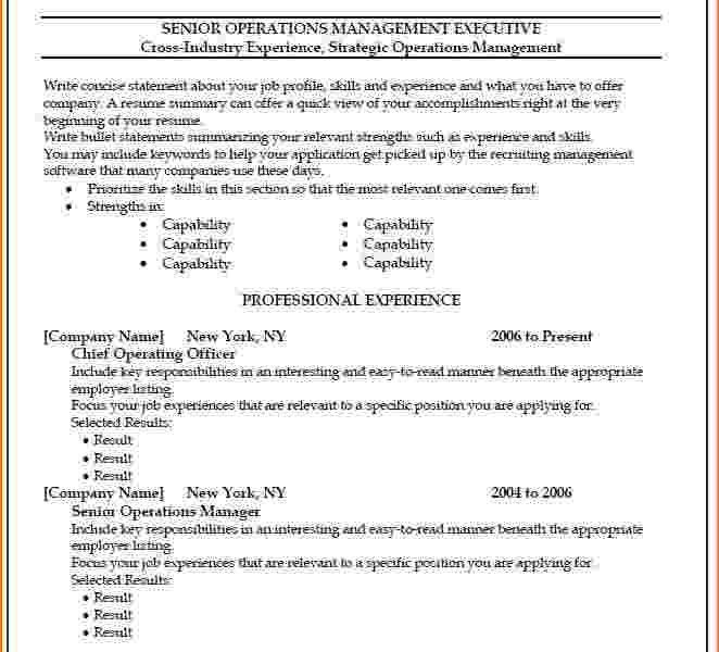 Resume Templates For Word 2010 | haadyaooverbayresort.com
