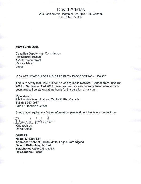 Sample Of Invitation Letter For Schengen Visa Application ...