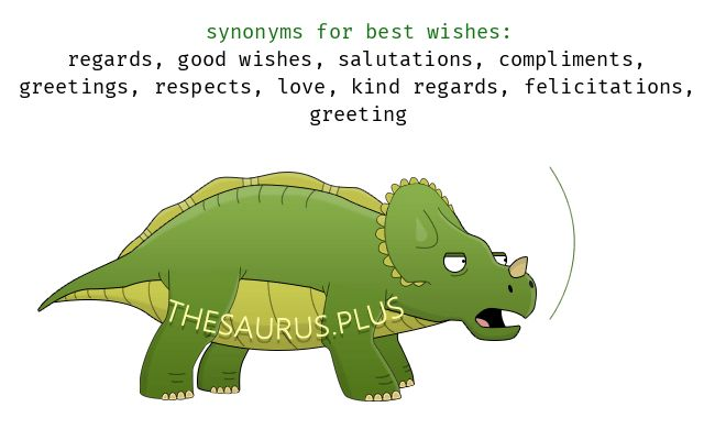 More 100 Best wishes Synonyms. Similar words for best wishes.