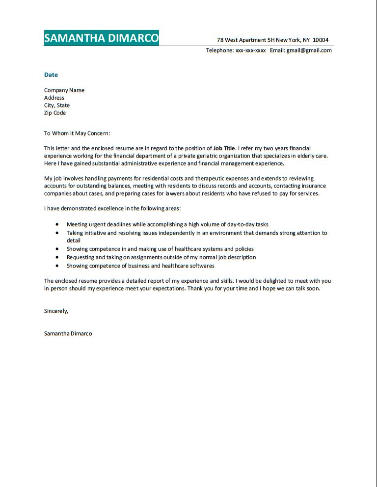 COVER LETTER SAMPLES Resume Body Shop, Body Shop Resume Examples ...
