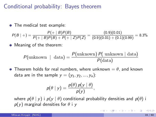 2013.03.26 An Introduction to Modern Statistical Analysis using Bayes…